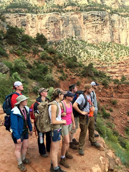 GEOL 390 Field Excursion to Grand Canyon, Summer 2015