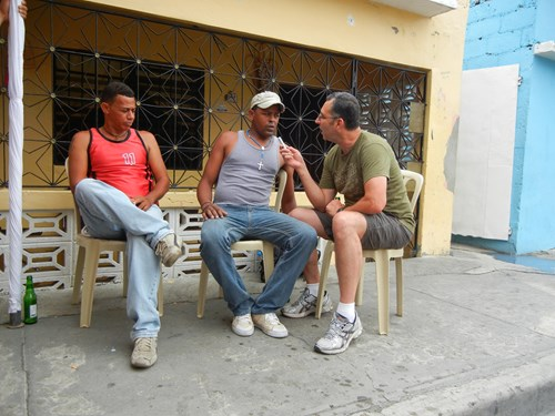 Dominican Republic. Interviewing, 2012
